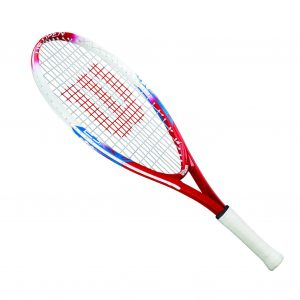 Wilson US Open Junior Tennis Racquet sideways
