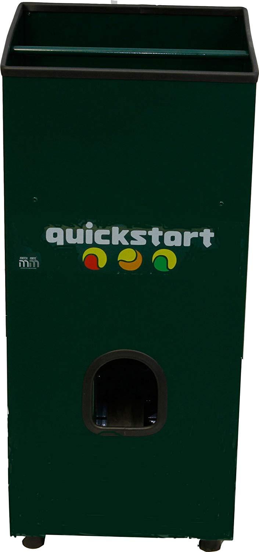 Quickstart Tennis Ball Machine up close
