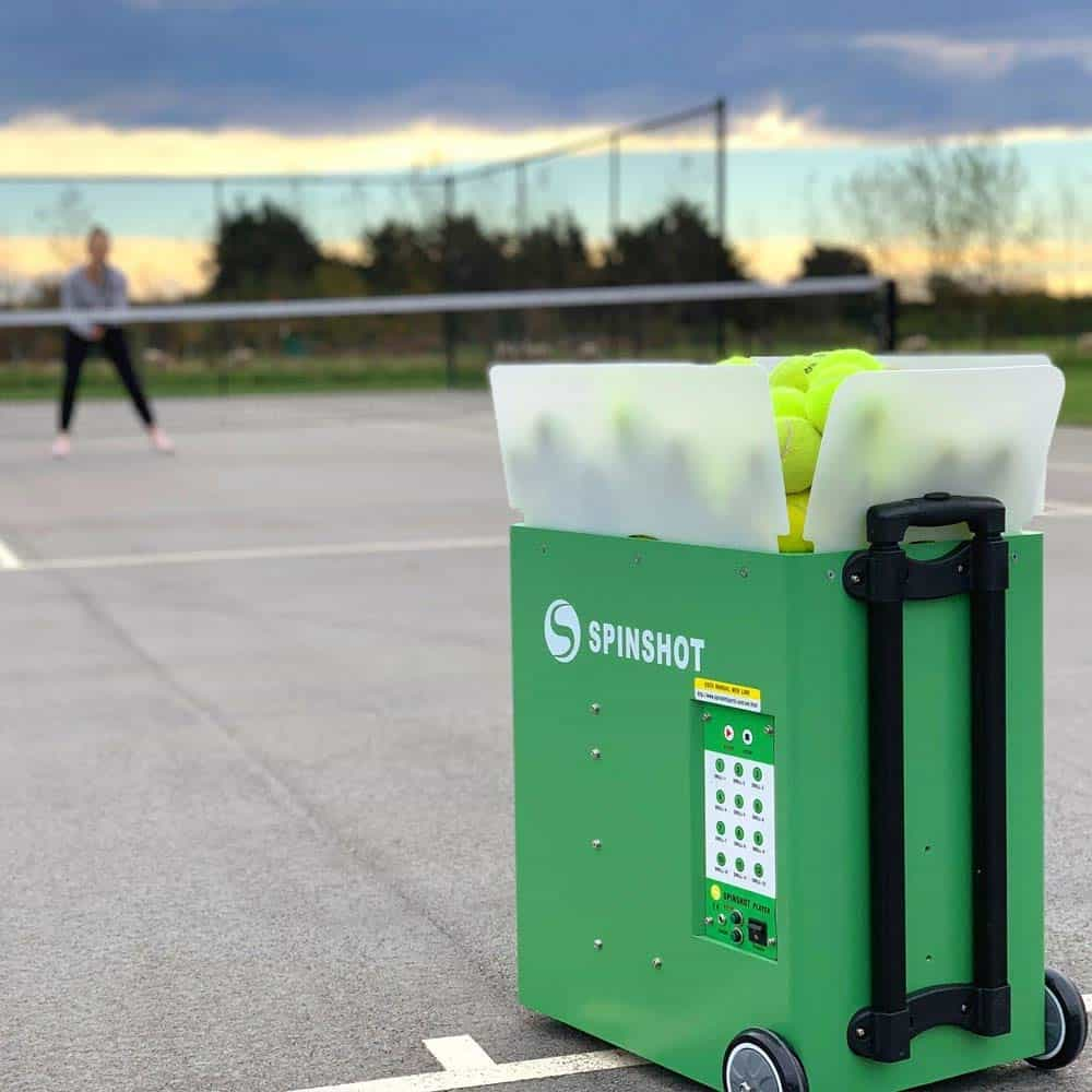 Spinshot-Player Tennis Ball Machine (Best Model to Improve Your Game on court