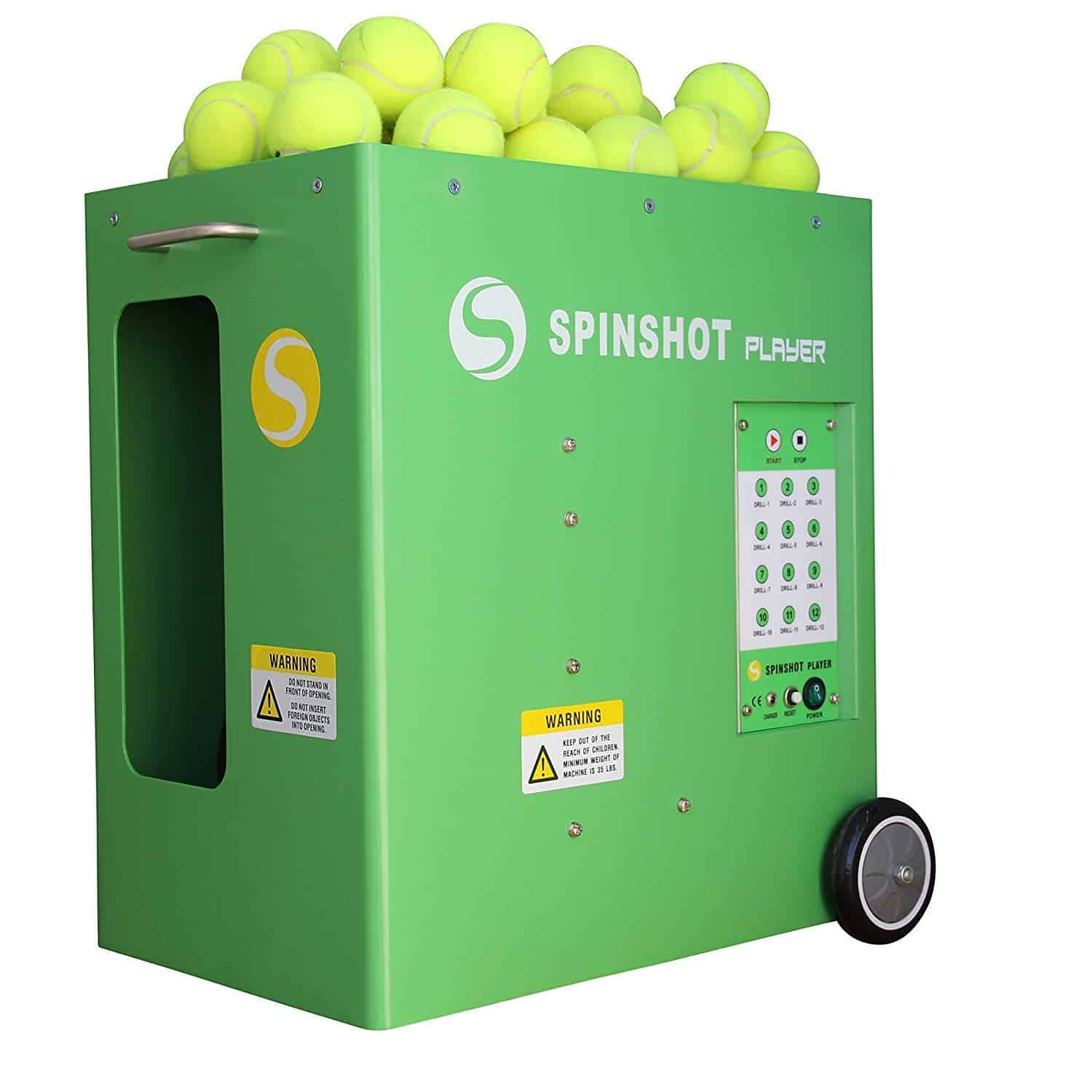 Spinshot-Player Tennis Ball Machine (Best Model to Improve Your Game