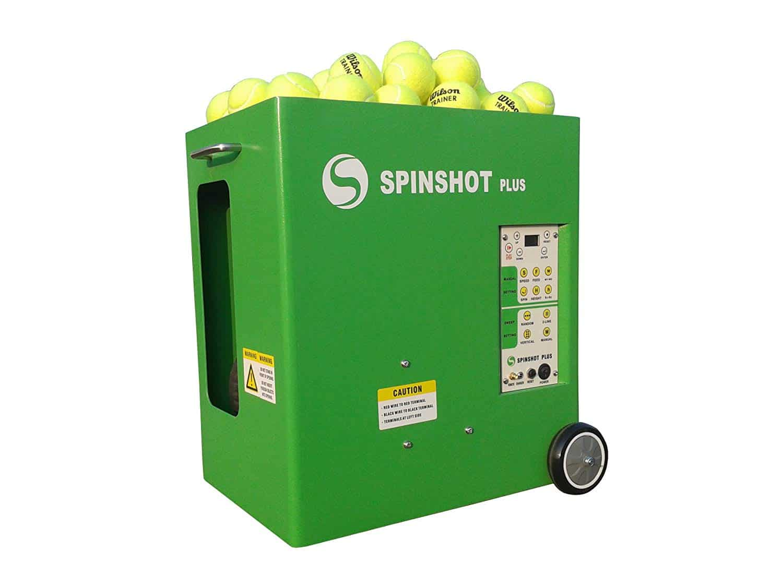 Spinshot Plus-2 Tennis Ball Machine (Plus2 Model =Plus Model + Player Model