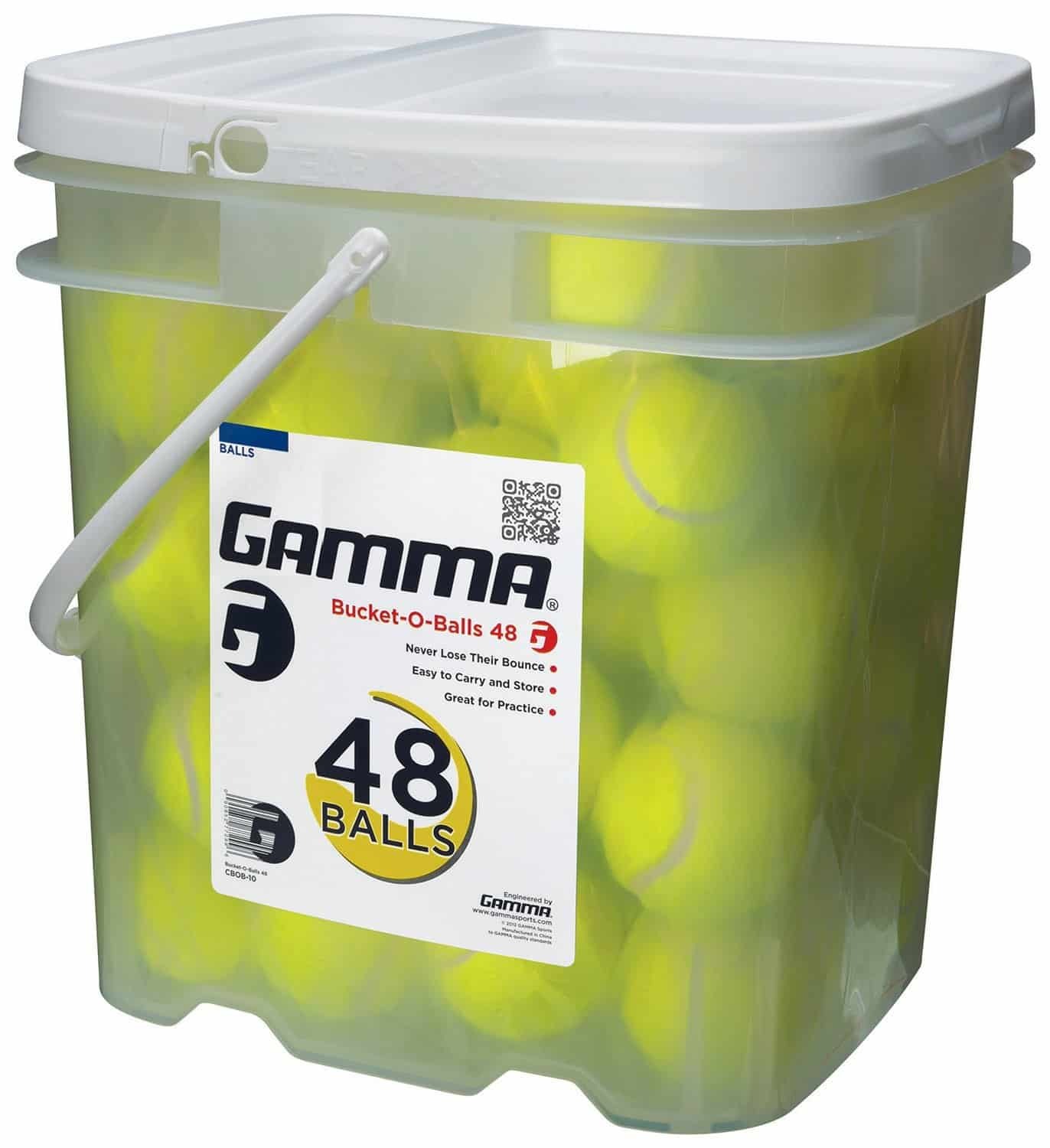 Gamma Pressureless Tennis Ball Bucket