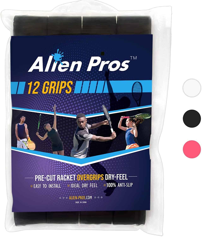 Senston New Racket Grip Anti Slip Perforated Super Absorbent Tennis Overgrip Bad